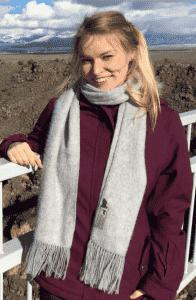 Blockpraktikantin Sylvia Voreck
